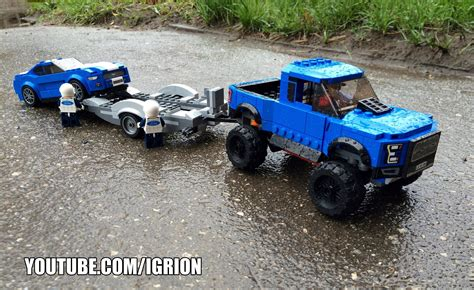 lego ford lego ford f 150 raptor 4k promo