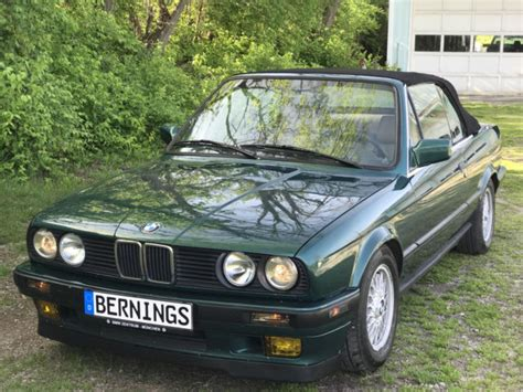 car owners manuals for sale 1992 bmw 3 series windshield wipe control 1992 bmw 318i convertible lagunengrun metallic green e30 manual great condition for sale bmw
