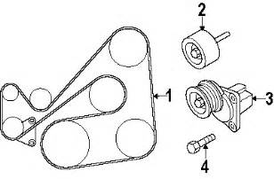 2007 mazda cx 7 l4 2 3l serpentine belt diagram