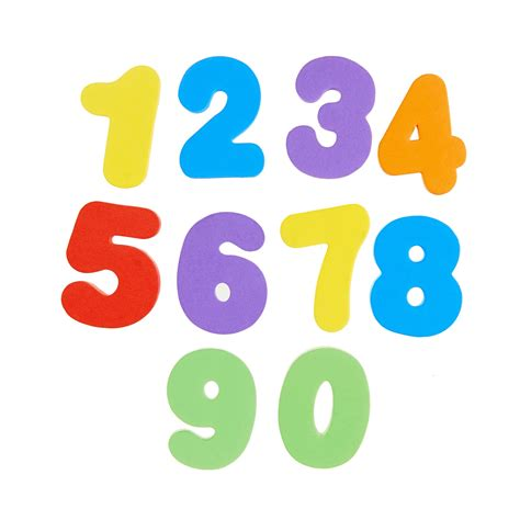 Letter And Number learn bath letters numbers primary 36 count