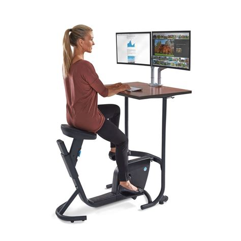 Stationary Bicycle Desk Desk Bike Peddler Exercise Bike Computer Desk