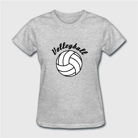design a volleyball shirt online volleyball design t shirt spreadshirt