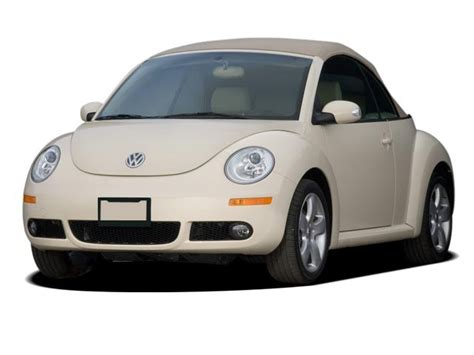 volkswagen beetle white convertible 2007 volkswagen new beetle convertible triple white pzev