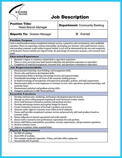 resume samples for banking bank manager resume assistant bank