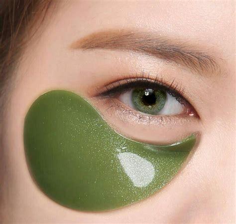 Makser Mata Eye Mask rejuvenating algae eye masks shangpree s marine energy eye masks tighten skin and reduce