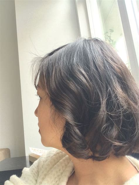 can asian hair be permed side view wavy bob wob digital perm asian hair