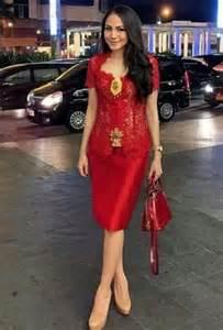 Dress Kebaya Modern » Home Design 2017