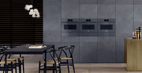 Miele Kitchen Design artline built in appliances with touch2open 187 miele