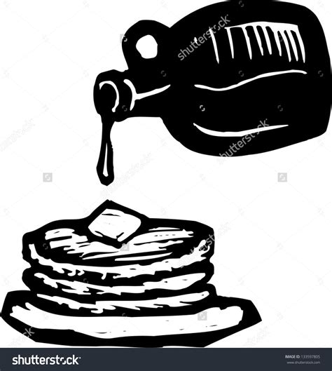 pancake clipart clipart pancakes black and white www pixshark