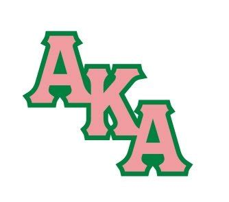 aka sorority colors alpha kappa alpha acrylic pin diagonal letter design