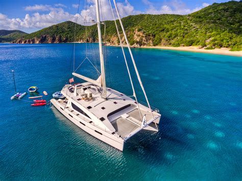 virgin island catamaran charters zingara crewed catamaran charter british virgin islands