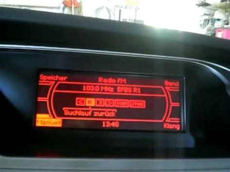 Audi A4 Avant Batterie Ausbauen by Mmi Basic Plus Monochrome Radio Function Audi A4 2009
