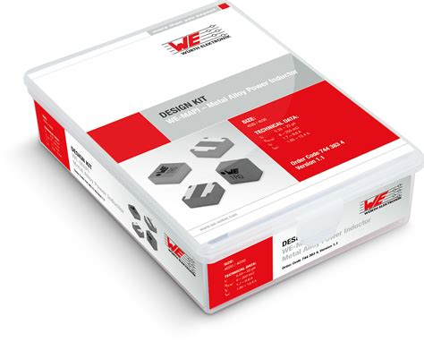 smd power inductor we mapi 4020 4030 design kits power magnetics w 252 rth elektronik