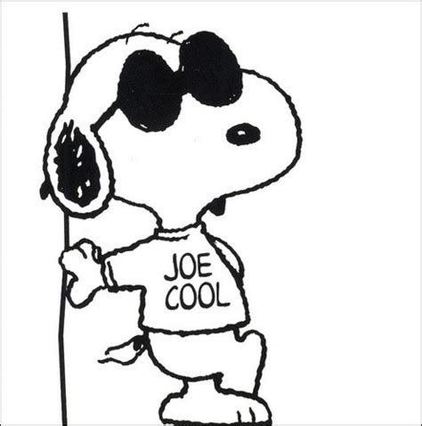 joe cool coloring pages snoopy joe cool clip art 69