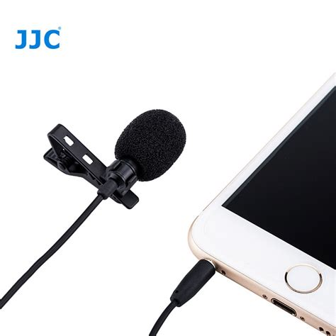 Jjc Clip On Omnidirectional Microphone Sgm 38ii For Canon Nikon Dslr jjc sgm 28 lavalier microphone clip end 1 13 2019 10 53 am