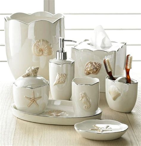 beachy bathroom accessories decorate your bathroom with these beach themed accessories