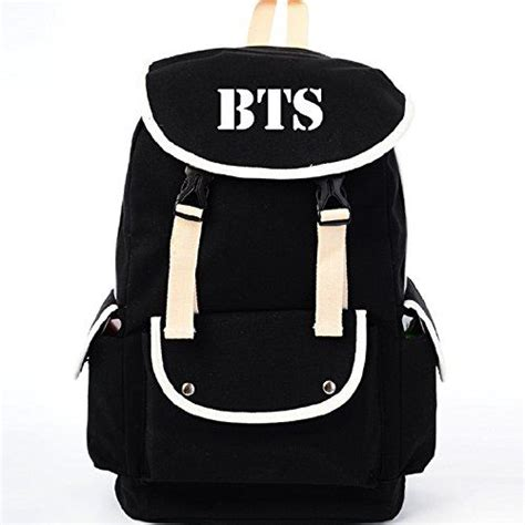 Backpack Btskpop sports bags canvas backpacks and kpop on