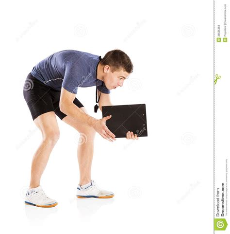 fitness couch fitness coach royalty free stock photos image 30997778