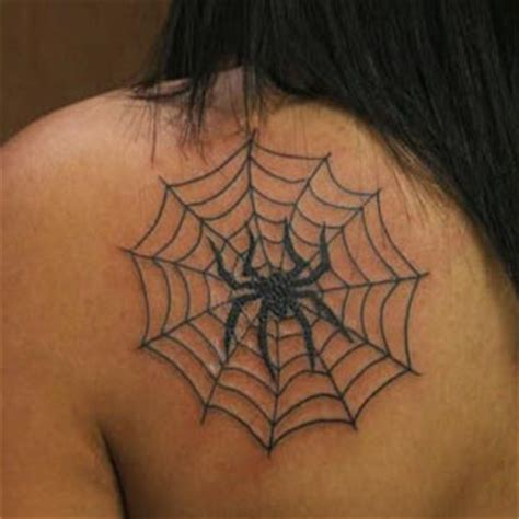 spider web tattoos design