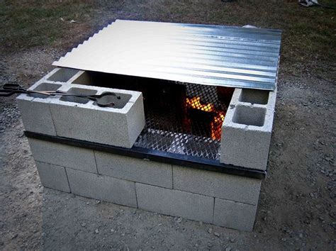 can you cook on a pit 17 best ideas about cinder block pit on
