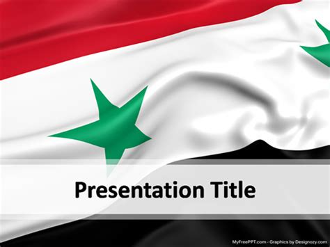 template syria syria powerpoint template free powerpoint ppt