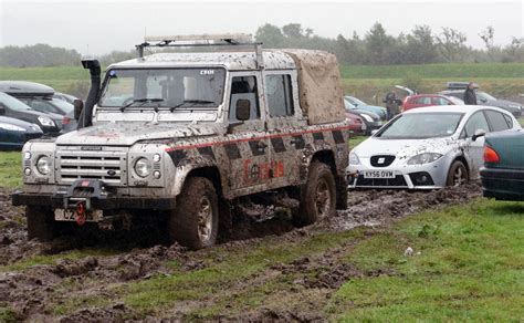 Stuck With A Of The Mondays 2 cars stuck in mud at car park after festival no 6 daily post