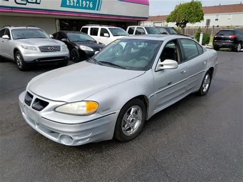 Pontiac Grand Am Gt 2002 by 2002 Pontiac Grand Am Gt For Sale 273 Used Cars From 1 499