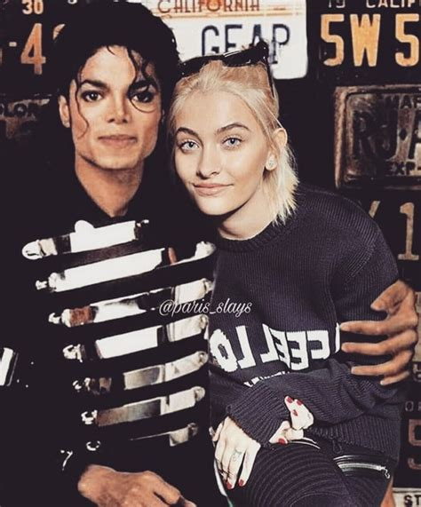 paris jackson shares photo with michael jackson tattoo