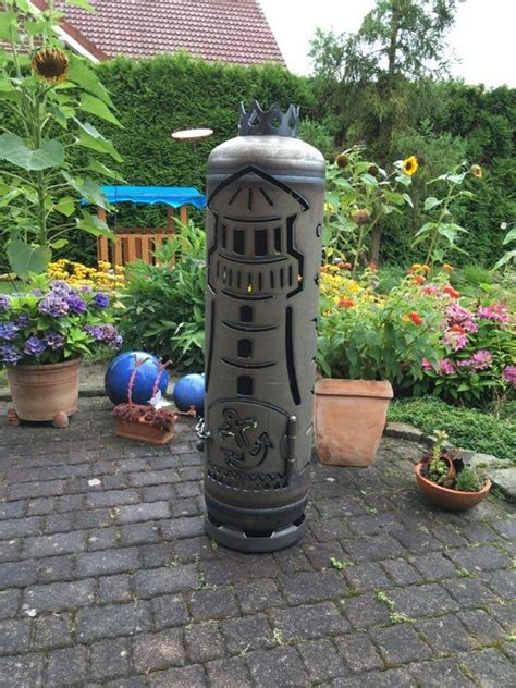 feuerstelle outdoor outdoor feuerstellen aus gasflaschen