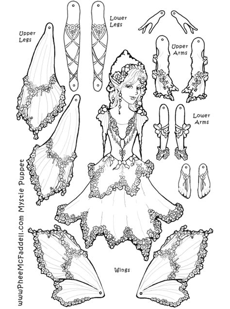 Puppet Coloring Pages Coloring Home Puppet Coloring Pages