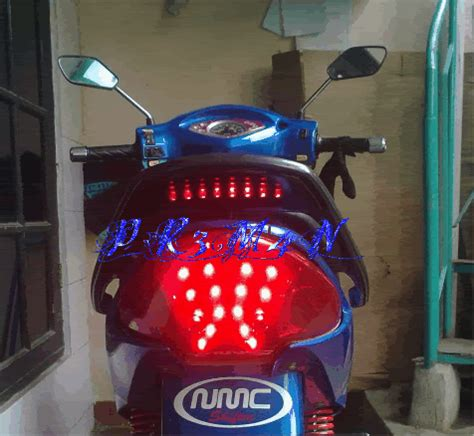 Lu Led Motor Shogun modif rem motor led spesialis modif bohlam led