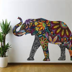 wonderful walls wall stickers murals and stencils mommy perks elephant family sticker wallboss art