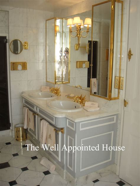 bathrooms in paris things we love ritz paris bathrooms the well appointed house blog living the well
