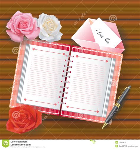 images of love diary love diary with line and other stuffs royalty free stock