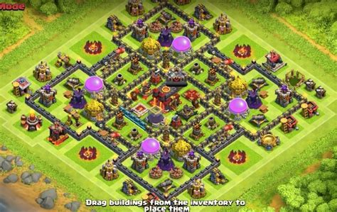 best th9 hybrid base 2016 8 solid as a rock hybrid base layouts for 2015 with 2 air