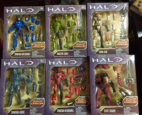 halo 1 figures mattel halo series 1 6 quot figures released alpha crawler