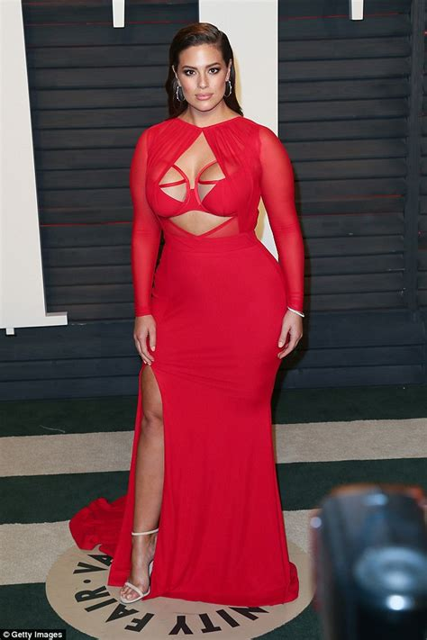 ashley graham fiercely denies she was slimmed down on her maxim cover daily mail online