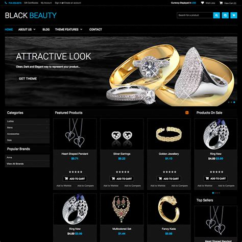 themes in black beauty blackbeauty bigcommerce theme themes psdcenter com