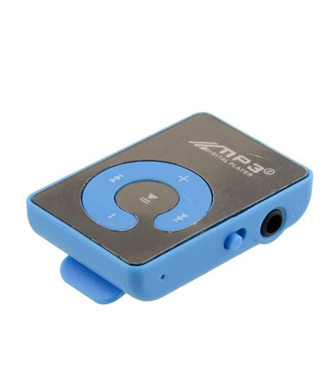 Mp3 Player Jepit By Mey Store buy kdm mp3 4 gb mp3 players blue at best price