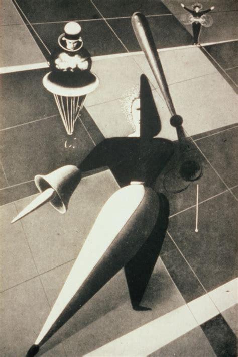 oskar schlemmer triadic ballet hekman digital archive