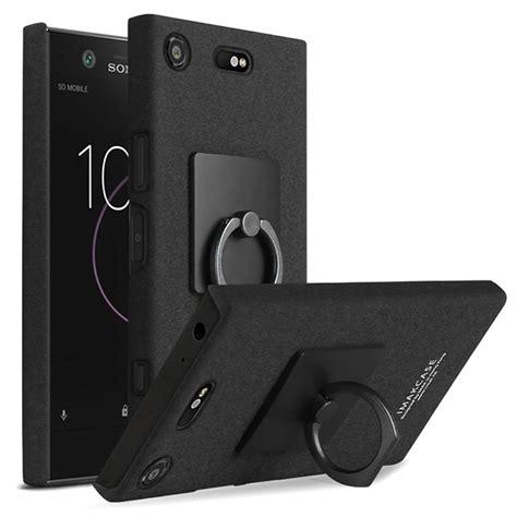Sony Xperia X Compact By Imak Xperiax Compact custodia con anello imak per sony xperia xz1 compact nera
