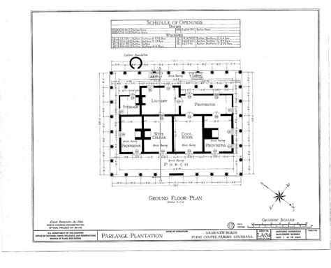 plantation house floor plans floor plans parlange plantation house new roads louisiana