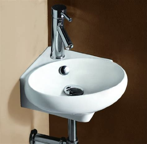 Corner Faucet by Corner Sinks For Small Bathrooms