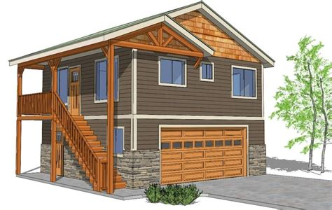 Small Cabin Floorplans by Kit Home Plans And Cost Estimater Frontier Over Garage Renovation Remodel Rehab Resources