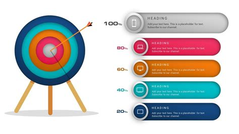 how to create target goals objective mission slide or