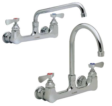 Kason Faucet by Kason Industries 0451kl8000 Series 8 Quot Wall Mount Faucets