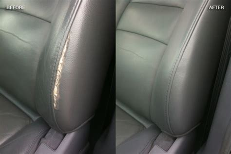 car leather restoration leather vinyl upholstery repair fibrenew prince george