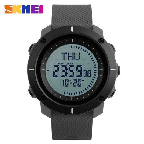 Jam Tangan Digital Jam Tangan Pria Sport Skmei 1189 Original Anti Air 1 jual jam tangan pria skmei digital sport led compass