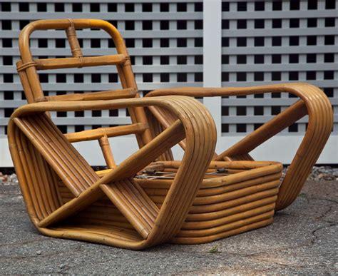 rattan pretzel lounge chairs  sale  stdibs