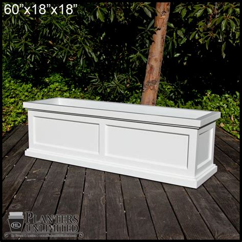 Rectangular Planter by Keswick Rectangular Planter Box Commercial Patio Garden